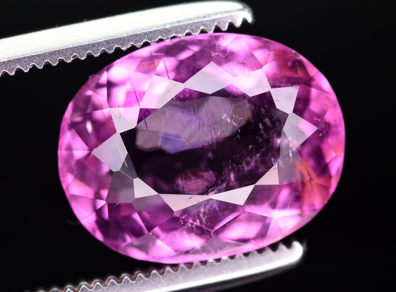 3 Ct Incredible Color Natural Pink Tourmaline ~ Mozambique
