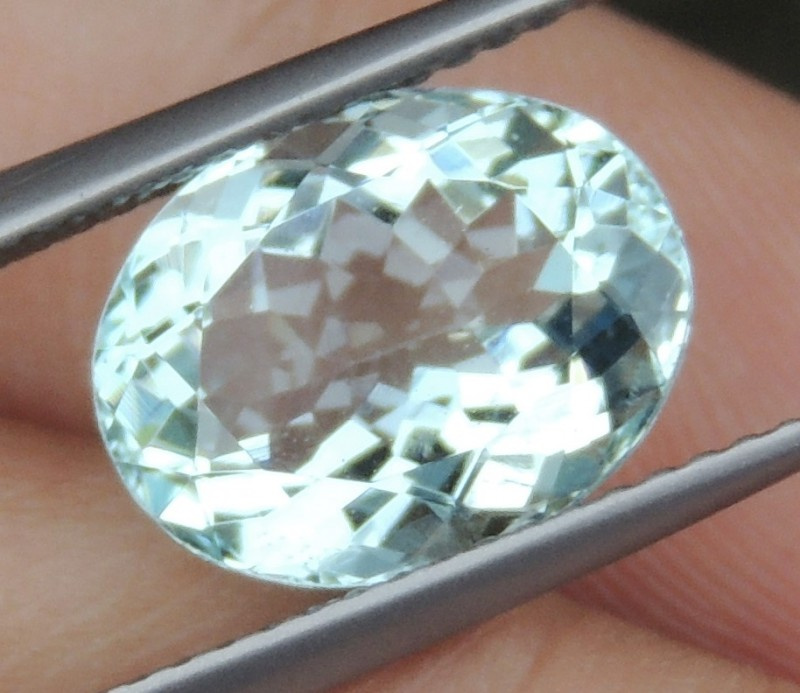 3.32cts Aquamarine,   Clean,   Untreated
