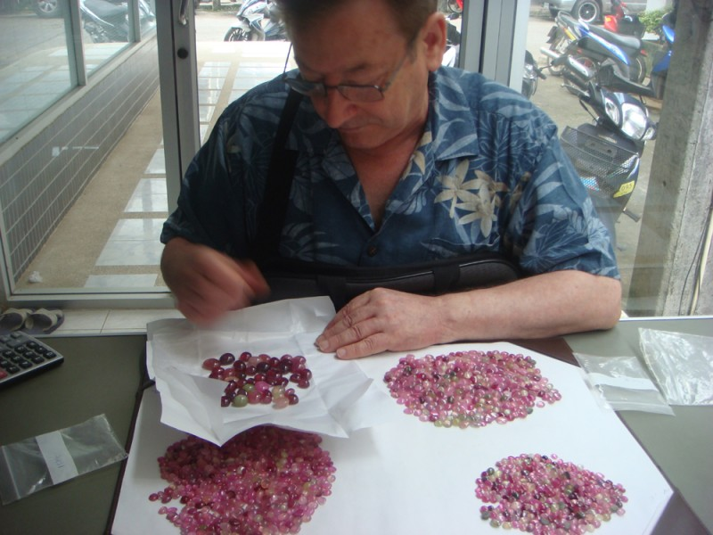 BIG PARCEL 2468 cts natural rubis