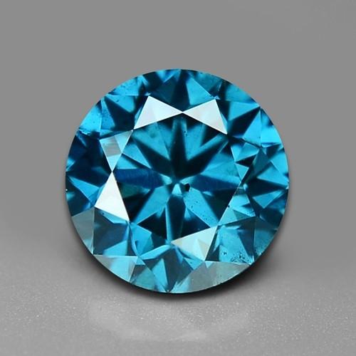 0.52 CT DAIMOND SPARKLING BLUE COLOR BD5