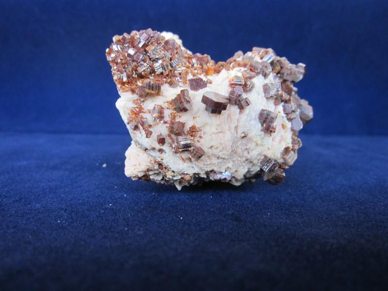Rare Vanadinate mineral display specimen from Milbladen Morocco 334 grams 7