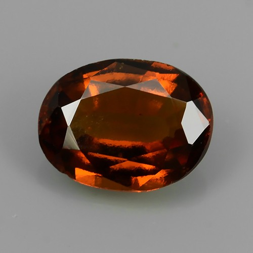 1.75 Cts EXQUISITE NATURAL UNHEATED RED OVAL HESSONITE GARNET