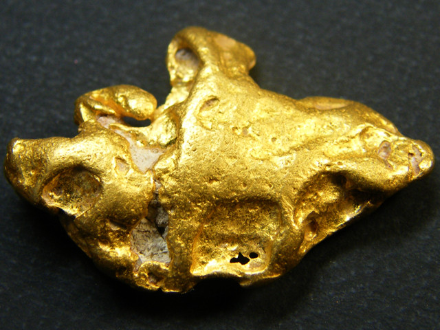 COLLECTORS LARGE  GOLD NUGGET  8.4 GRAMS  LGN 342