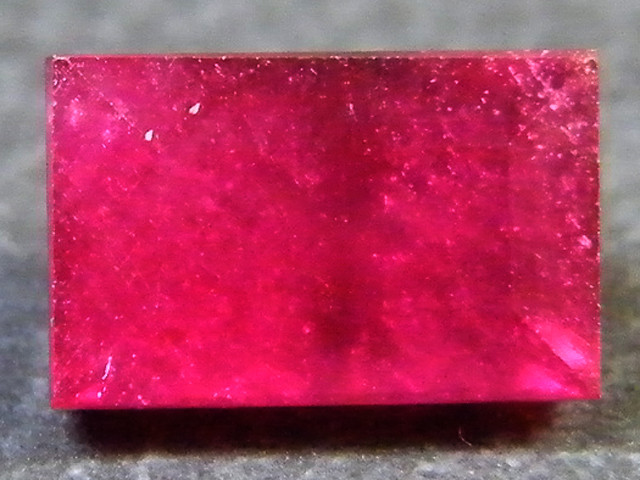 F/S CRYSTAL CLEAR VS GRADE SPARKLING REDRUBY 1.35 CTS RM 297