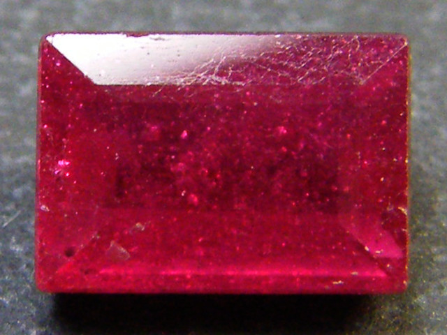 F/S CRYSTAL CLEAR VS GRADE SPARKLING REDRUBY 1.45 CTS RM 324