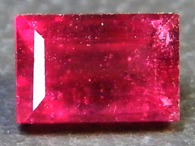 CRYSTAL CLEAR VS GRADE SPARKLING RED RUBY 1.10 CTS RM 347