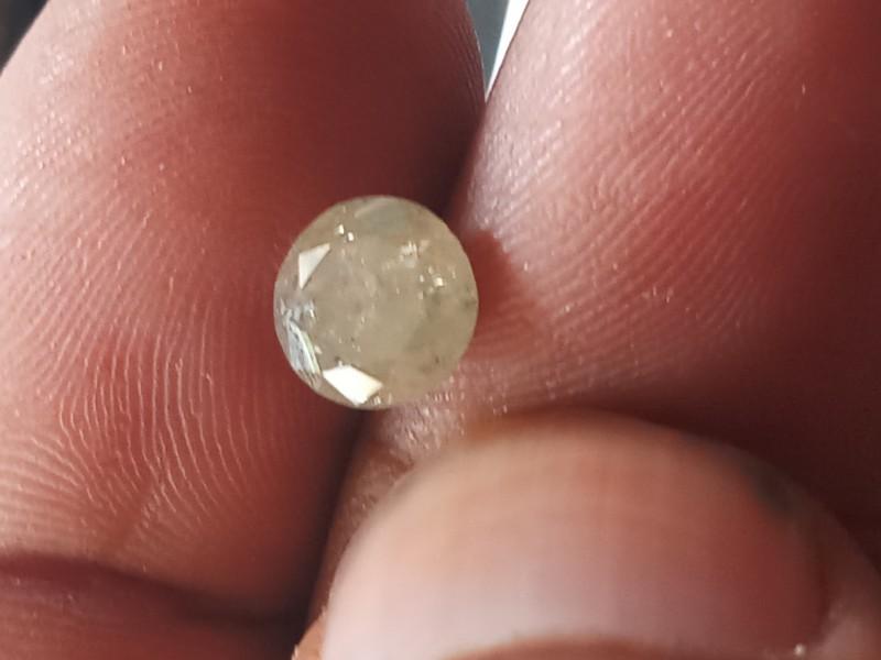 NATURAL- SOLITIARE -WHITEGREY DIAMOND-1.65CTWSIZE-1PC