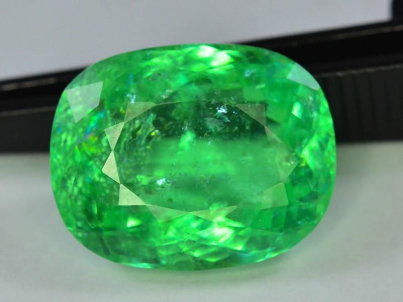 20.25 ct Top Grade Green Paraiba Tourmaline