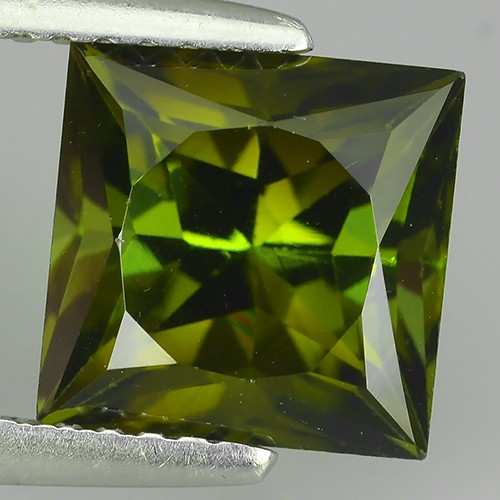 3.10 CTS-BEST-GRADE-SPARKLING-RARE-NATURAL-GREEN-TOURMALINE FANCY- SQARE NR