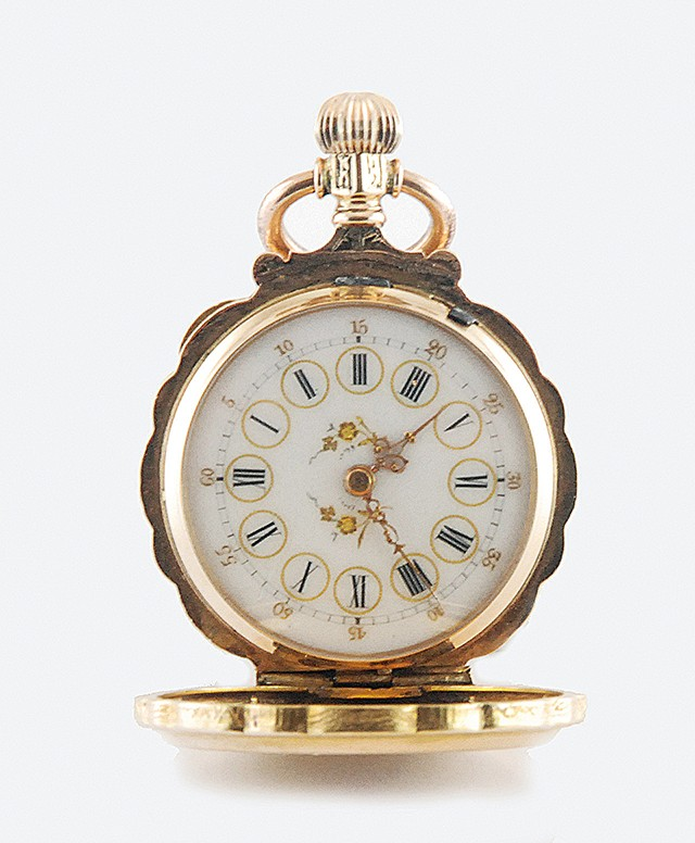 Swiss Pocket Watch with Diamond
