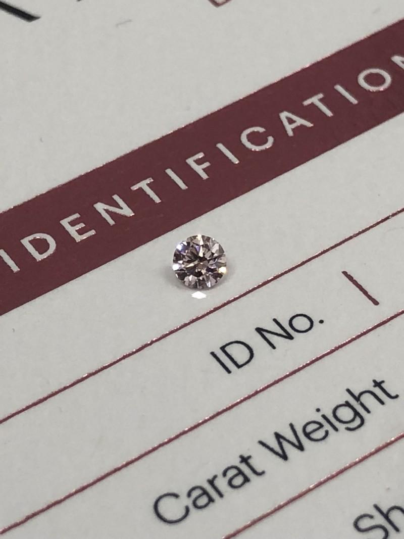 0.14ct 7PR SIAV Certified Argyle Pink Diamond