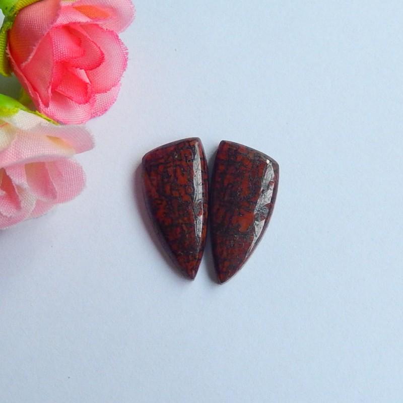 22ct Natural dragon bone fossil cabochon beads (18091125)