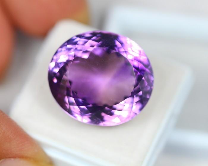 34.69Ct Purple Amethyst Oval Cut Lot LZB207