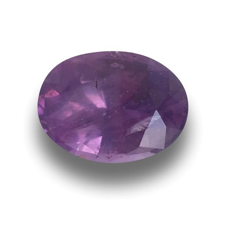 Natural Unheated Purple Sapphire Loose Gemstone  Sri Lanka New
