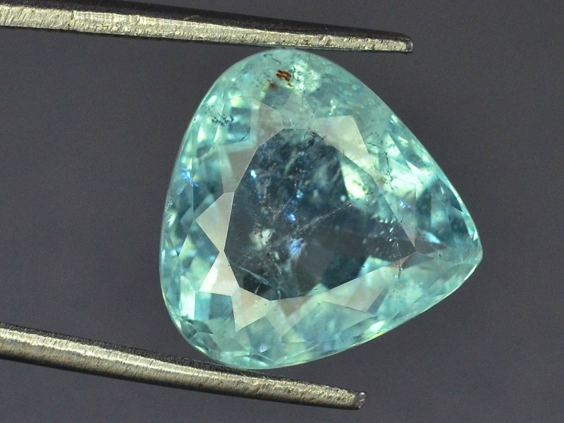 Gil Certified 5.16 ct Natural Paraiba Tourmaline