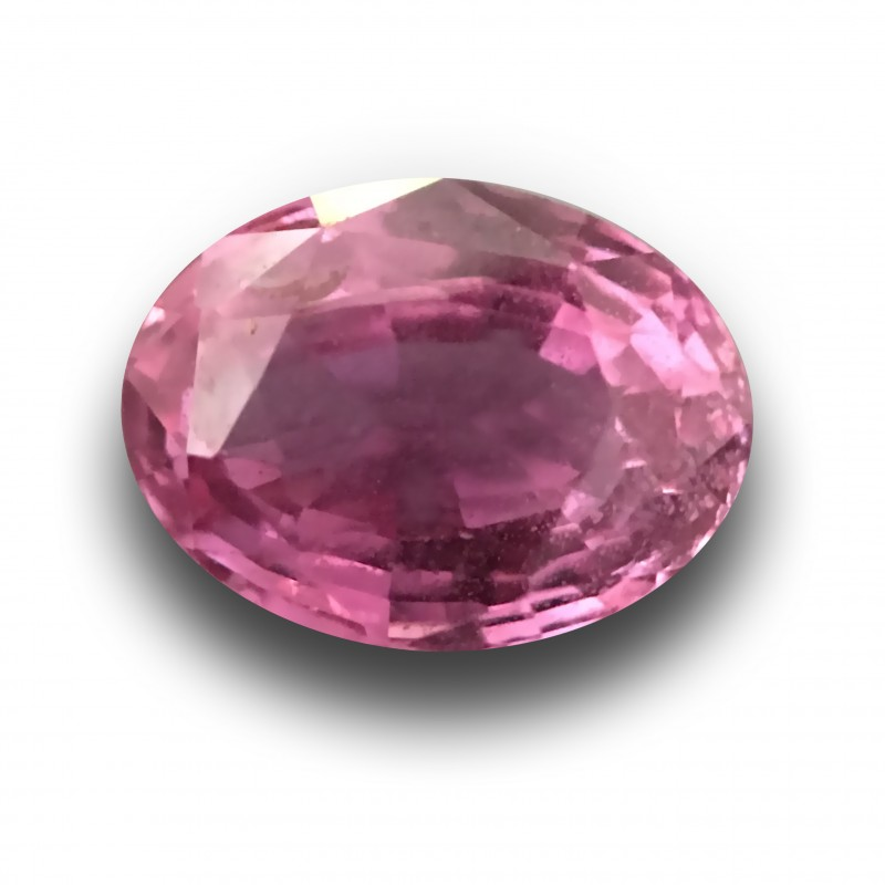 Natural Pink sapphire |Loose Gemstone|New Certified| Sri Lanka