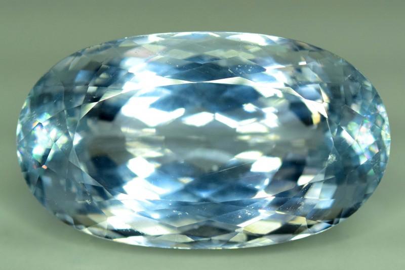 59.35 cts Natural Aqua Blue Color Spodumene ~ Afghanistan