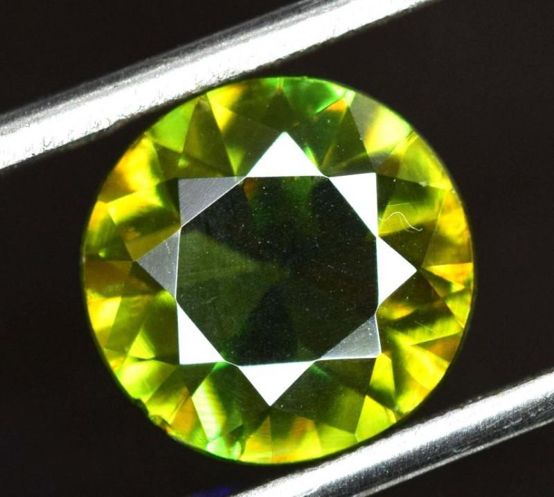 AAA Color 2.45 ct Chrome Sphene from Himalayan Range Skardu Pakistan