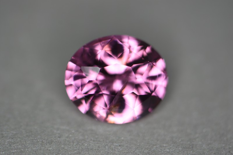 See full internal reflection and high luster stone in rich pink tone for terrific price.