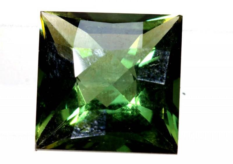 4- CTS  GREEN QUARTZ FACETED  CG-2527