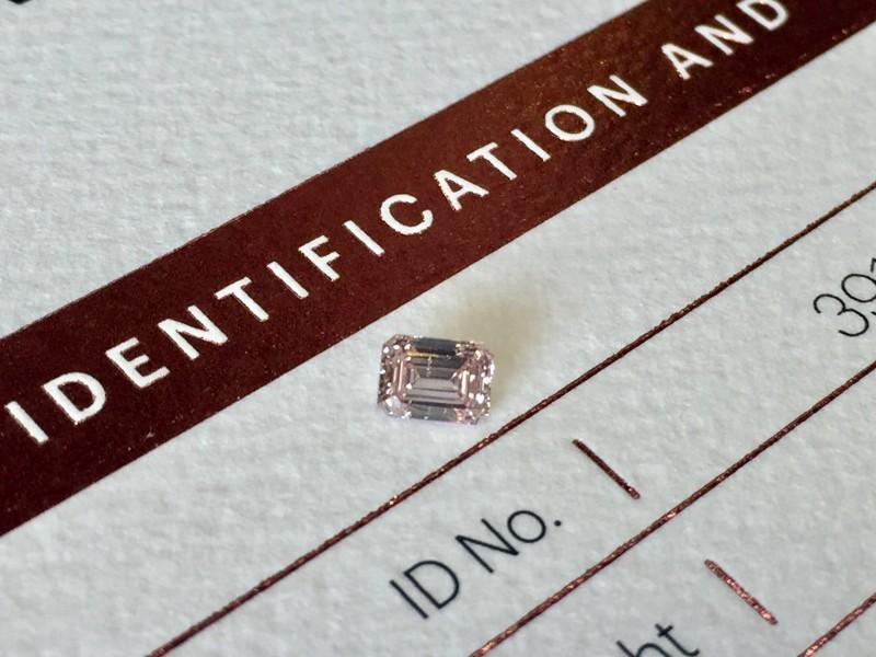 0.30ct PC1 P1 Certified Argyle Pink Diamond