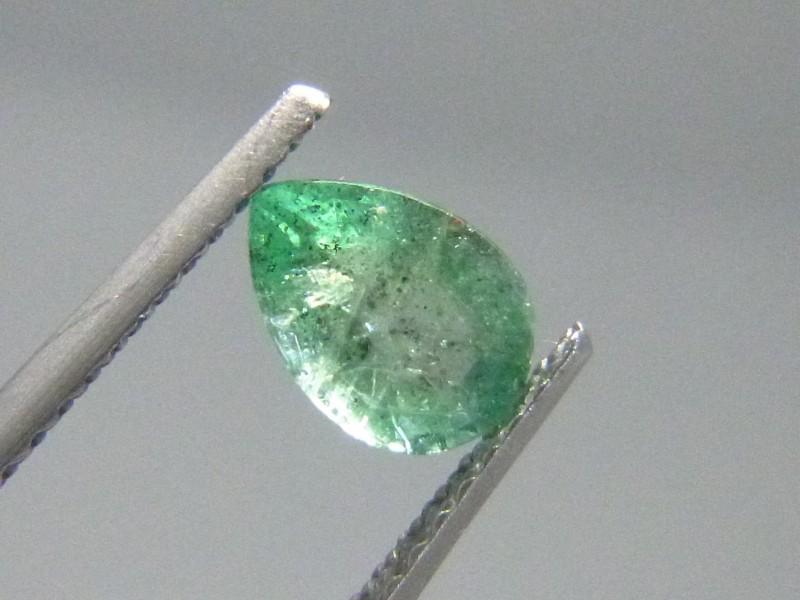0.74cts  Emerald , 100% Natural Gemstone