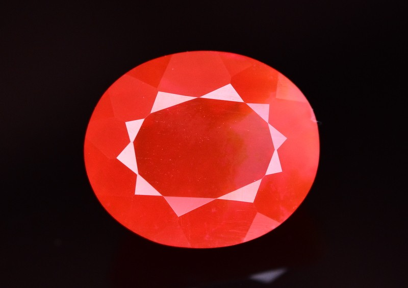 1.39 Ct Gorgeous Color Natural Mexican Fire Opal