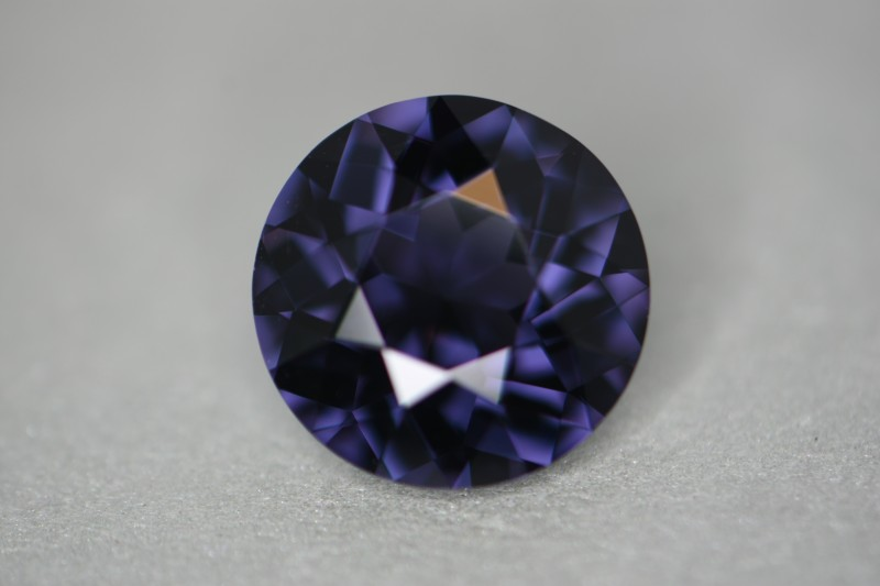4.86 ct cobalt certified unheated natural color change spinel.