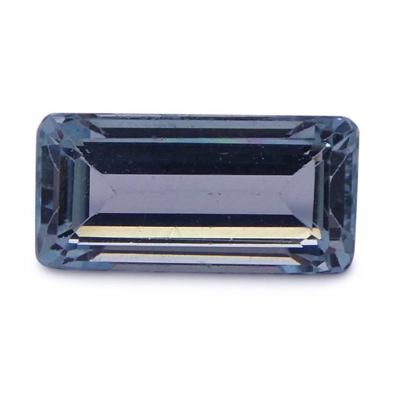2.44 ct Baguette Aquamarine