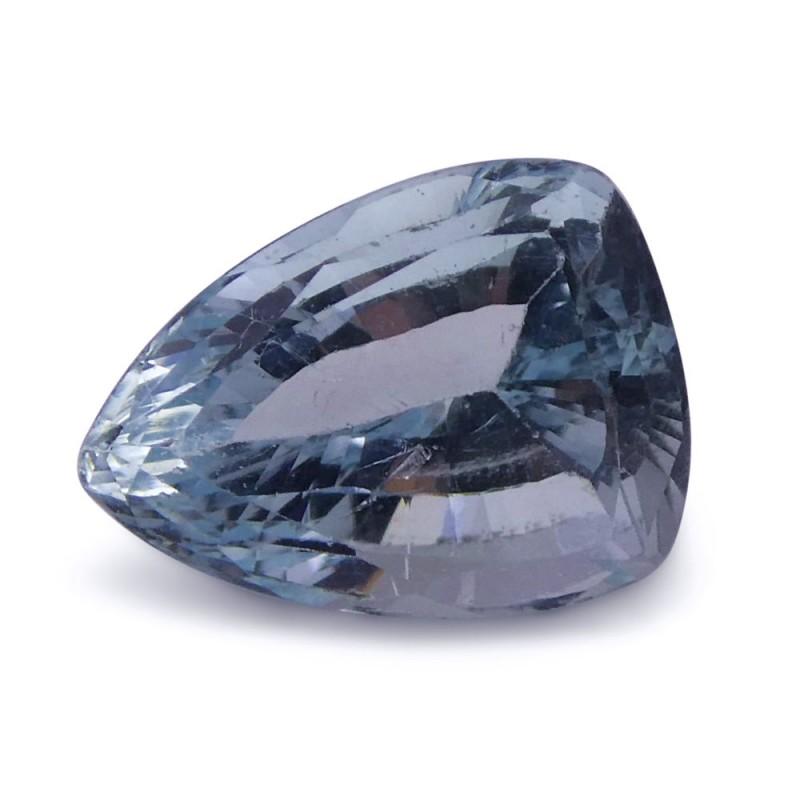 2.49 ct Shield / Trillion Aquamarine