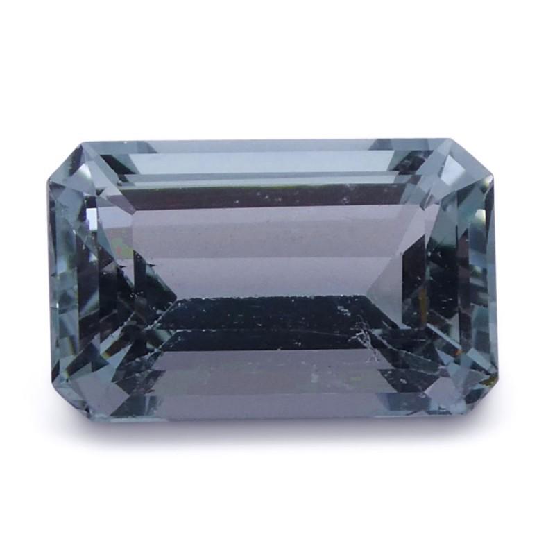 3.19 ct Emerald Cut Aquamarine