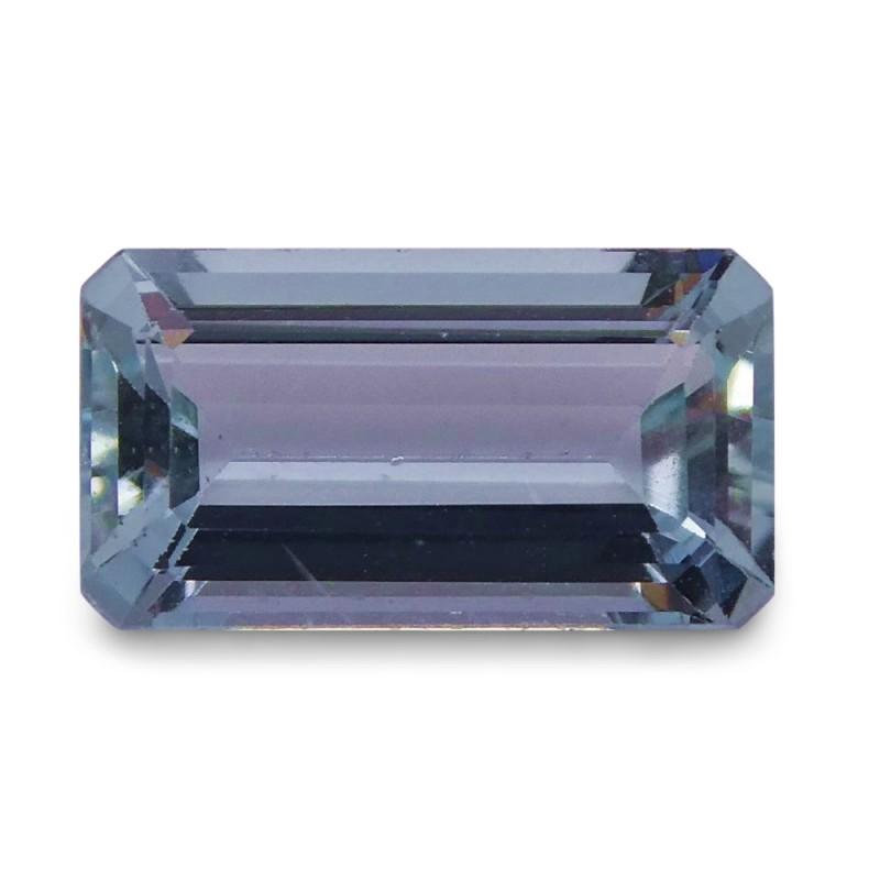 1.52 ct Baguette Aquamarine