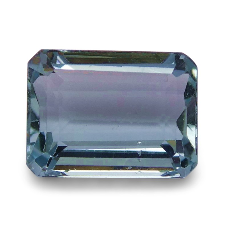 1.84 ct Emerald Cut Aquamarine