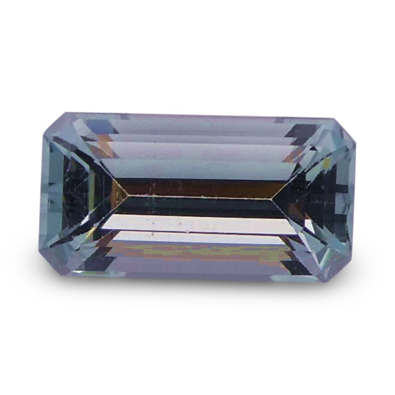 1.51 ct Baguette Aquamarine