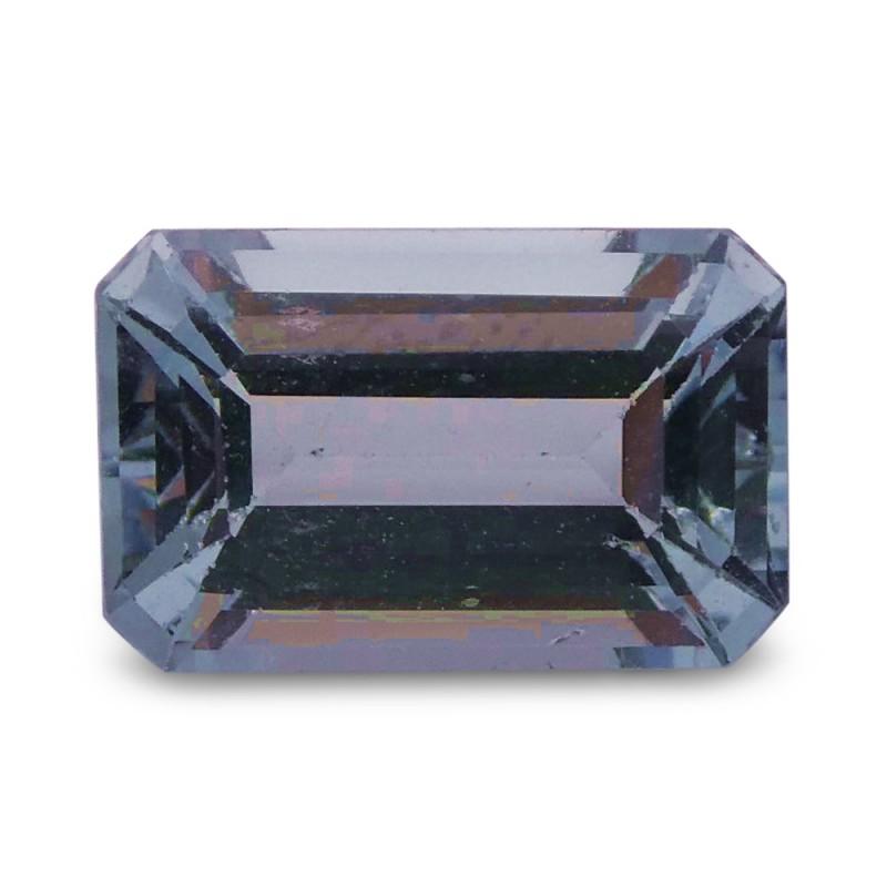 1.63 ct Emerald Cut Aquamarine