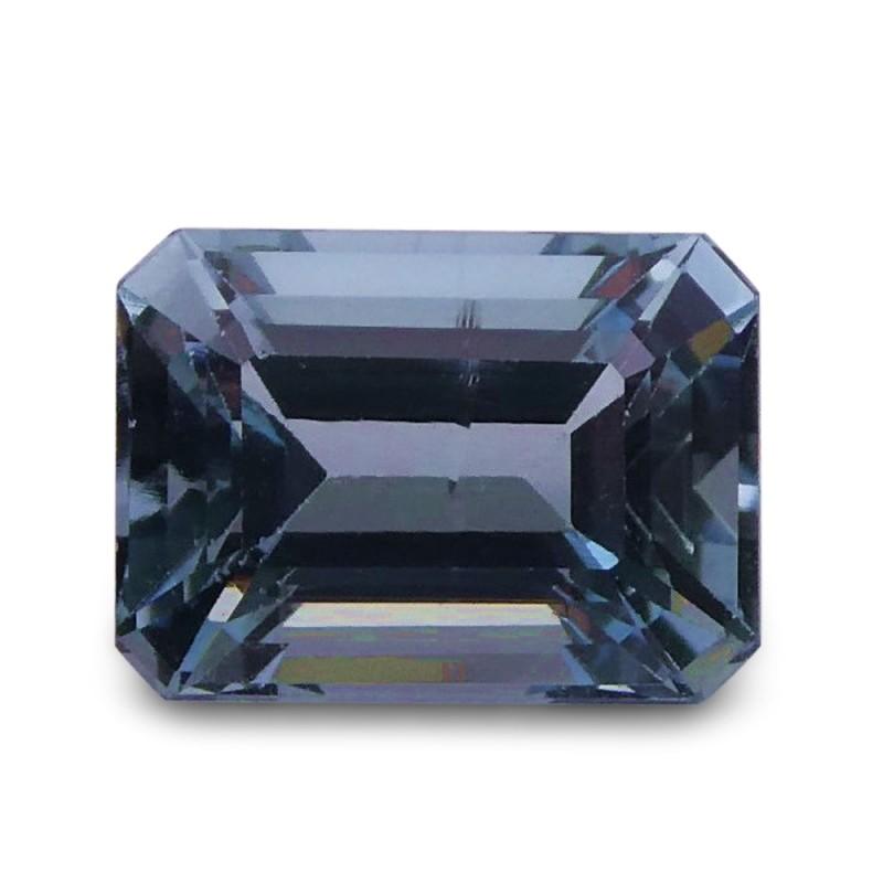 1.83 ct Emerald Cut Aquamarine