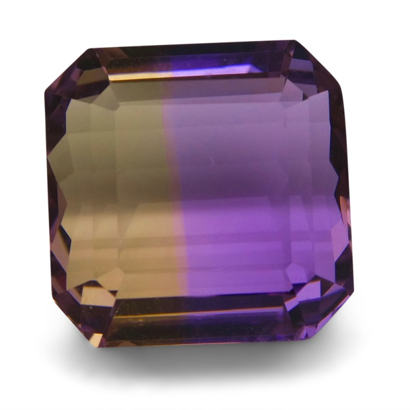 20.20 ct Square Ametrine
