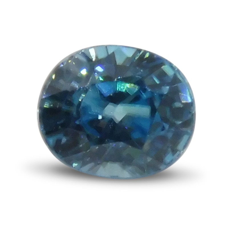 2.70 ct Oval Blue Zircon
