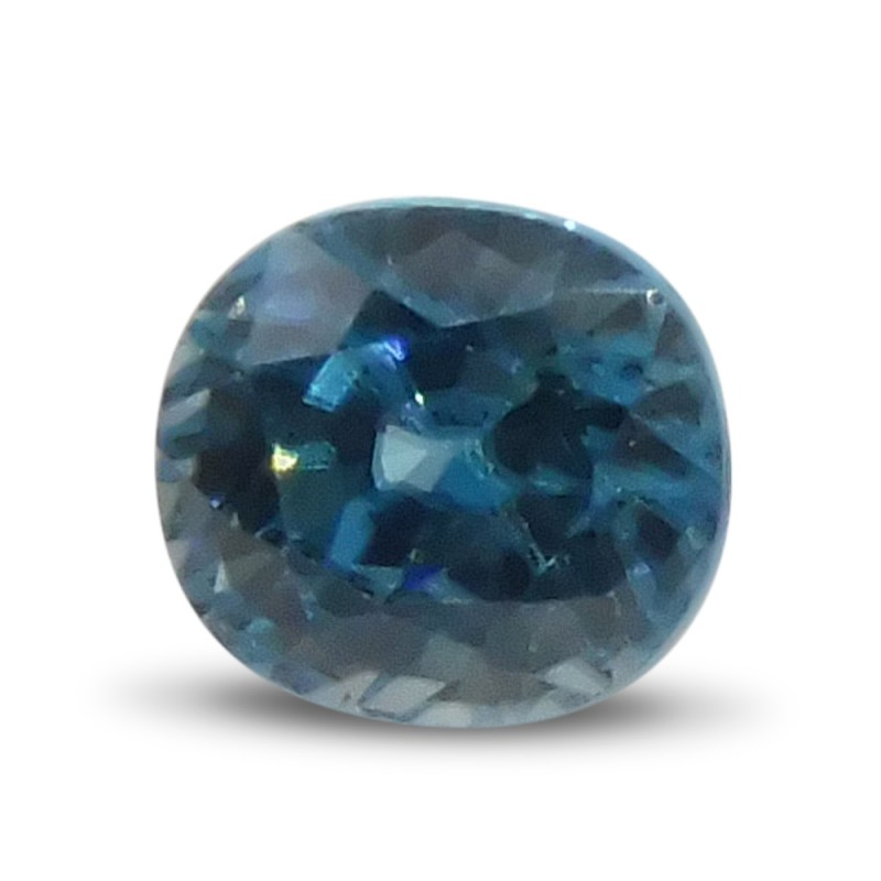 2.19 ct Round Blue Zircon