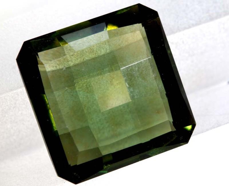 4.83- CTS  GREEN QUARTZ FACETED  CG-2534