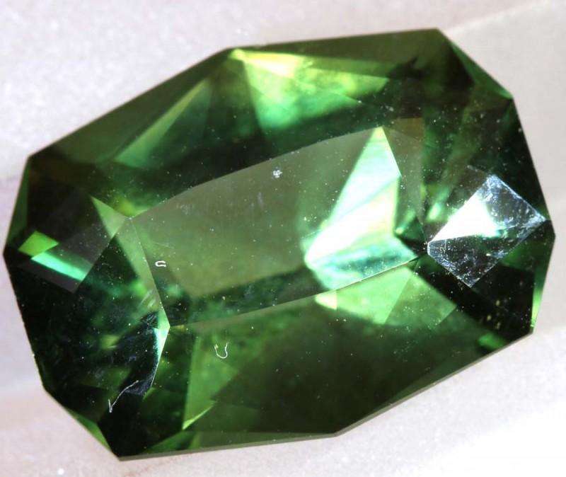 4.36- CTS  GREEN QUARTZ FACETED  CG-2537