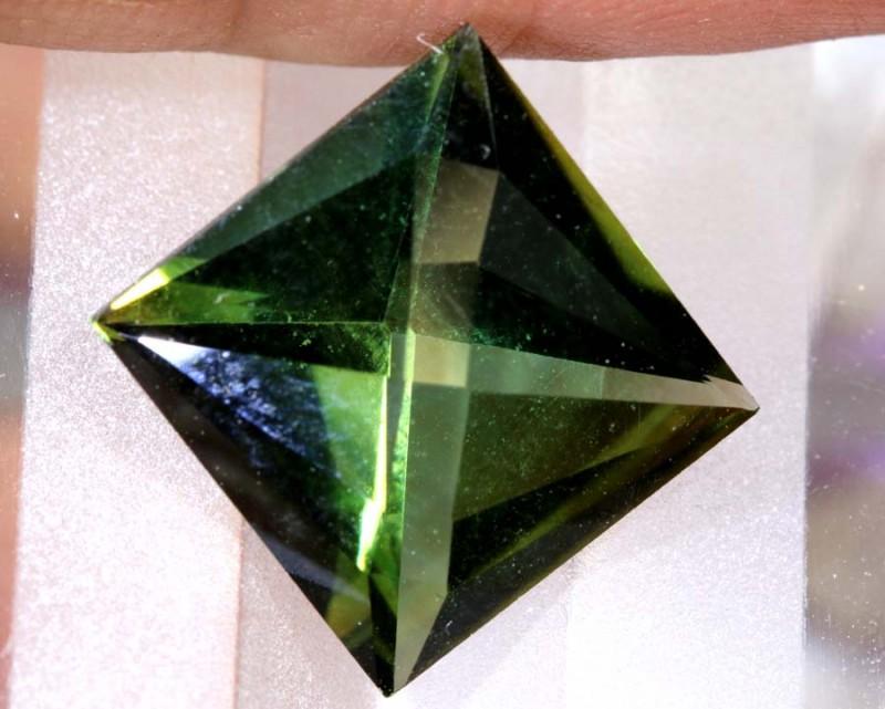 5.36- CTS  GREEN QUARTZ FACETED  CG-2541