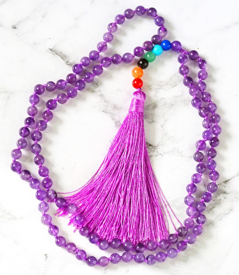 Amethyst Prayer Beads WS385