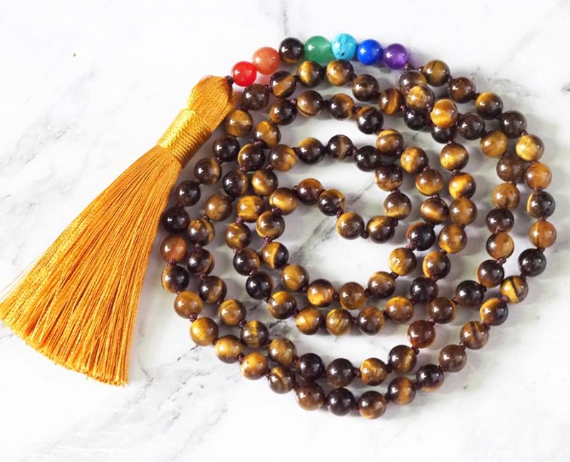 Tiger Eye  Prayer Beads WS395