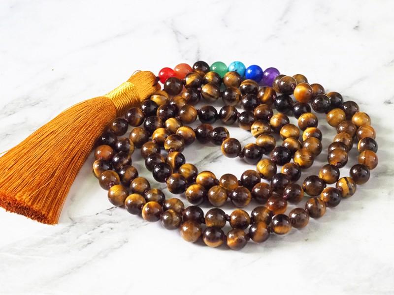 Tiger Eye  Prayer Beads WS396