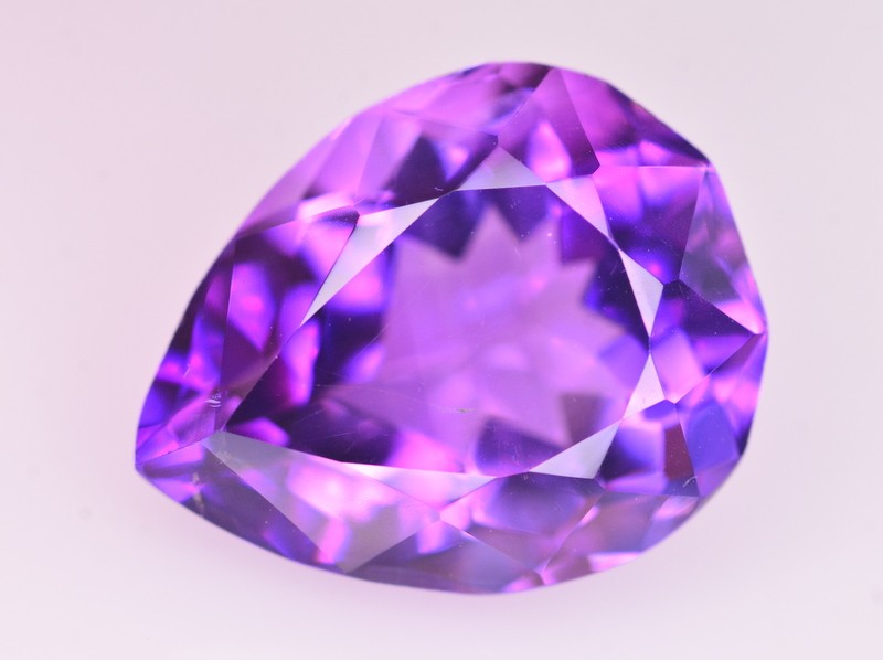 11 Ct Dazzling Color Natural Amethyst