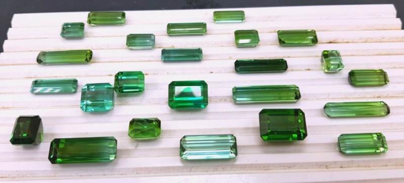286 carats Natural Tourmaline Gemstones Parcel ~ Afghan