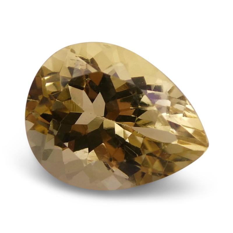 2.27 ct Pear Heliodor / Golden Beryl