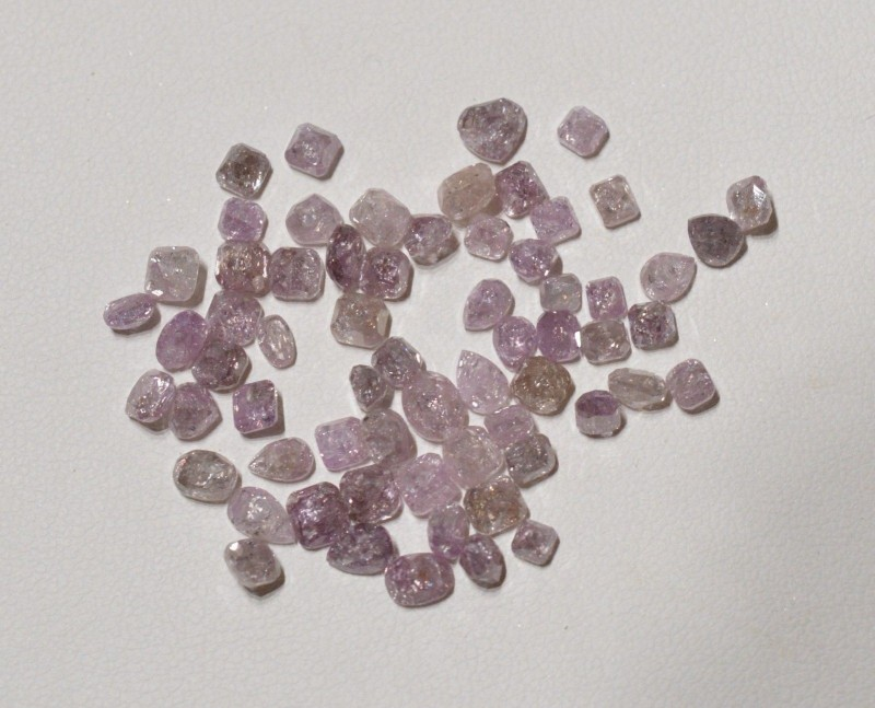 Lot Diamant rose 1 carat - Natural Pink Diamond Wholesale Lot