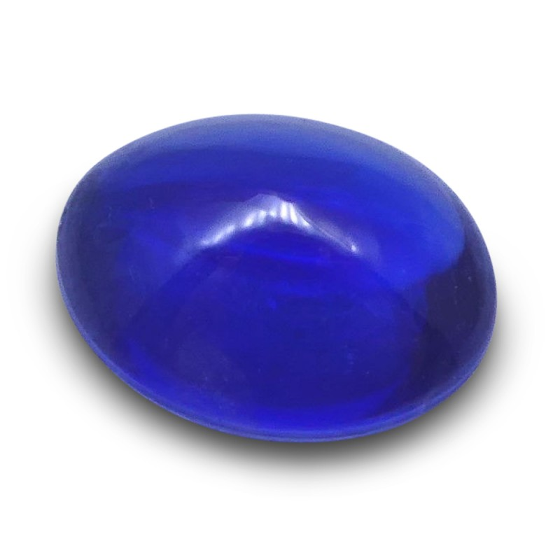 0.96 ct Oval Sugarloaf Cabochon Sapphire